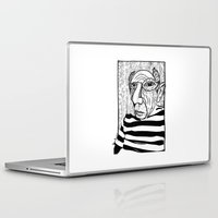 pablo picasso Laptop & iPad Skins featuring Pablo Picasso by Benson Koo