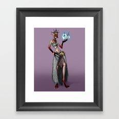 Marinette Yaga Framed Art Print