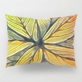 Doodled Aura-Leah Digitized Macro Pillow Sham
