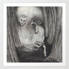 Eikthyrni Art Print