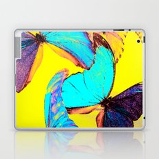 Shiny and colorful butterflies Laptop & iPad Skin