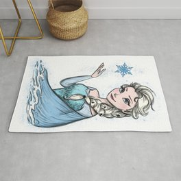 The Snow Queen Color Rug