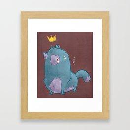 Royal Kitty Framed Art Print