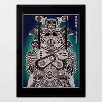 The Dark Lord of the Orient Art Print