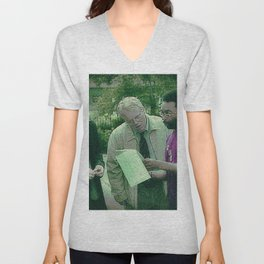 A Script For Ed & Philip By A Spike Unisex V-Neck