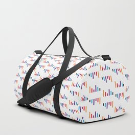 Parallel Lines Colourful #1 Duffle Bag