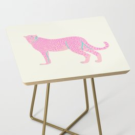 PINK STAR CHEETAH Side Table