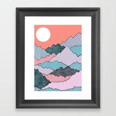 Mountain Tones Framed Art Print