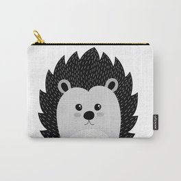 hedgehog Illustration Carry-All Pouch