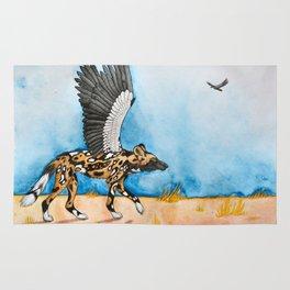 African Simurgh Rug