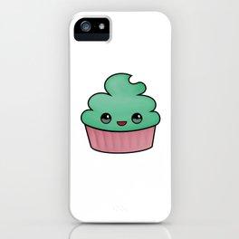 happy cupcake iPhone Case