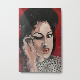 When my eyes Metal Print