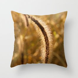 Lakeside Grass Throw Pillow