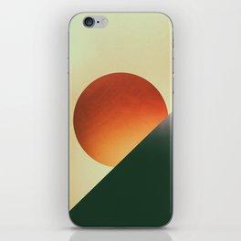 Tangerine Sunset iPhone Skin