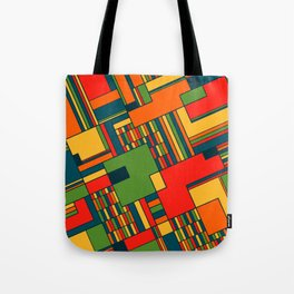 African geometric pattern Tote Bag