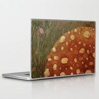 mushroom Laptop & iPad Skins featuring mushroom by rysunki-malunki