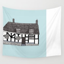 'Coventry' House print Wall Tapestry