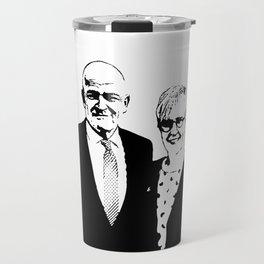 piggy and dirt Travel Mug