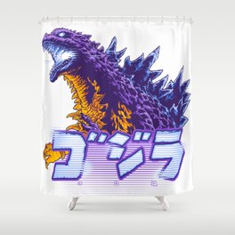 Atomic Death Shower Curtain