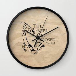 Six God Wall Clock