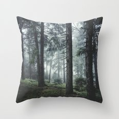 Path Vibes Throw Pillow