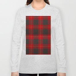 CAMERON CLAN SCOTTISH KILT TARTAN DESIGN Long Sleeve T-shirt
