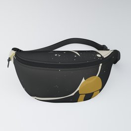 Black Hair No. 4 Fanny Pack