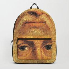 Leonardo Da Vinci self portrait Backpack