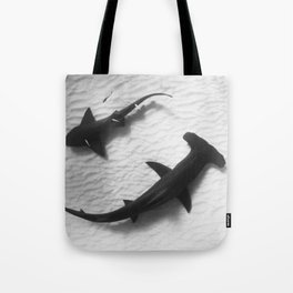 Shark Yin Yang Tote Bag