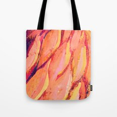 Flamingo Girl with Lashes  Tote Bag