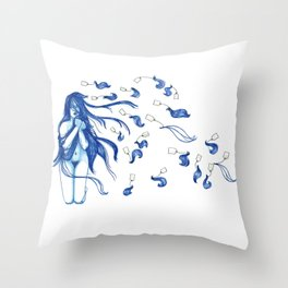 Cultural Appropreation Throw Pillow