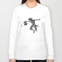 kingdom hearts Long Sleeve T-shirts featuring Vanitas KINGDOM HEARTS by DarkGrey Heroine