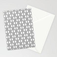 Aelbrecht Grey Pattern Stationery Cards