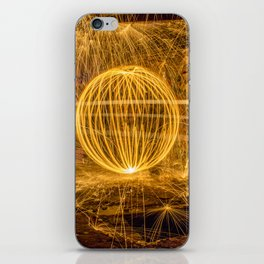 RUINED - Light Painting iPhone Skin