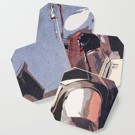 Bobba Fett | The Bounty Hunter | Star War Art Coaster