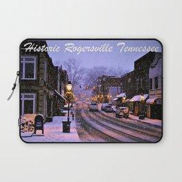 Historic Rogersville Tennessee In Winter Laptop Sleeve