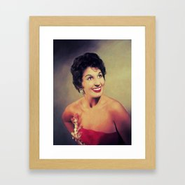 Alma Cogan, Music Legend Framed Art Print
