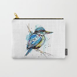 Bold Kingfisher  Carry-All Pouch