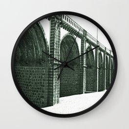 Bridge in Ribeira Grande Wall Clock
