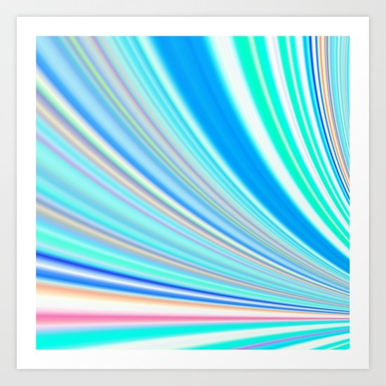 Re-Created Slide12 by Robert S. Lee Art Print