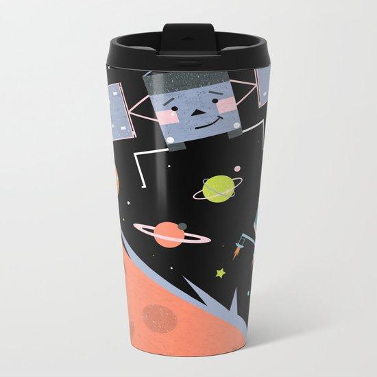 Comet Landers Metal Travel Mug