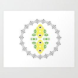 Domino I Art Print