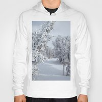 snow Hoodies featuring Snow by Chris Root