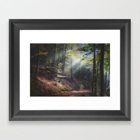 remain in light Framed Art Print