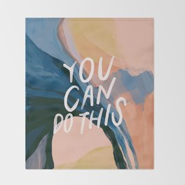 You Can Do This! Throw Blanket
