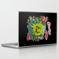 bag Laptop & iPad Skins featuring CTHUL-AID by BeastWreck