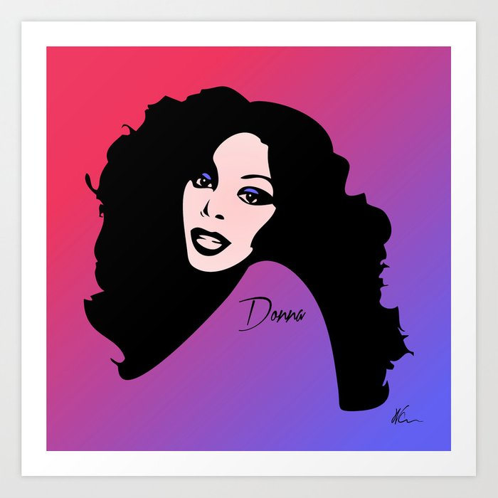 Donna Summer - Last Dance - Pop Art Art Print