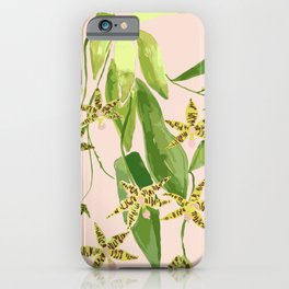 Le Orchidee Flower iPhone Case