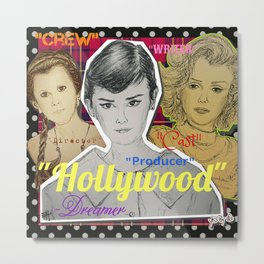 (Celebrity - Hollywood) - yks by ofs珊 Metal Print