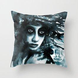 Vanishing siames Throw Pillow